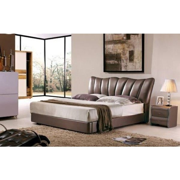 Leather Bed Oak Beds Und: 1000+ Ideas About Leather Bed Frame On Pinterest