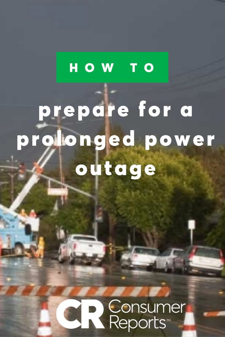 Power outages in nky - How To Prepare For A Prolonged Power Outage