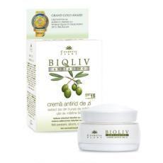 Produsul Bioliv Crema Antiage pe baza de extract bio din frunze de maslin si ulei de masline bio, este castigatorul marelui premiu Grand Gold Award la World Quality Selections 2013 din Bruxelles.