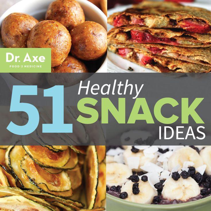 Top 51 Healthy Snack Ideas http://www.draxe.com #holistic #healthy #easy