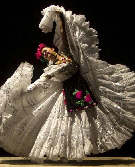 Uno de los vestidos mas elegantes!!! Veracruz.