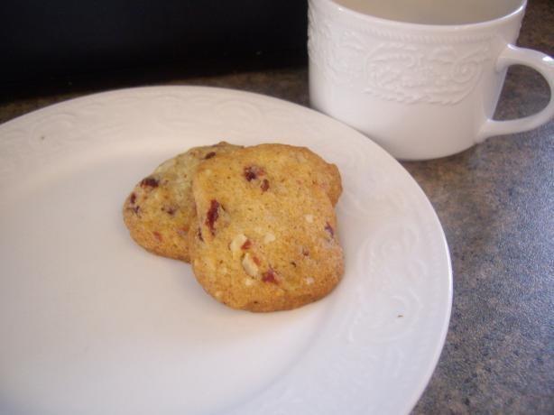 Cranberry Pistachio Refrigerator Cookies | Recipe