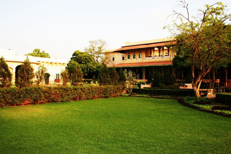 With large lawns and gardens, #CastleKanota Nr. #Jaipur #Rajasthan has the capacity for guests to play a bit of #Polo! A perfect #RareIndia #DelhiGetaway!   #Explore More: http://bit.ly/1mFO4BT