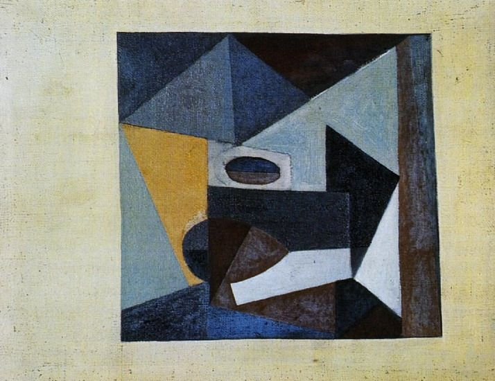 Pablo Picasso. Still life. 1920 year