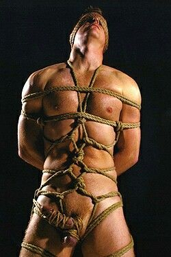 Never enough rope! Enjoy my best collection of gay bdsm,gay bondage,gay torture ;) ->>>