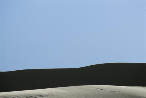 Franco Fontana, ''Deserto, Tunisia'', 1992
