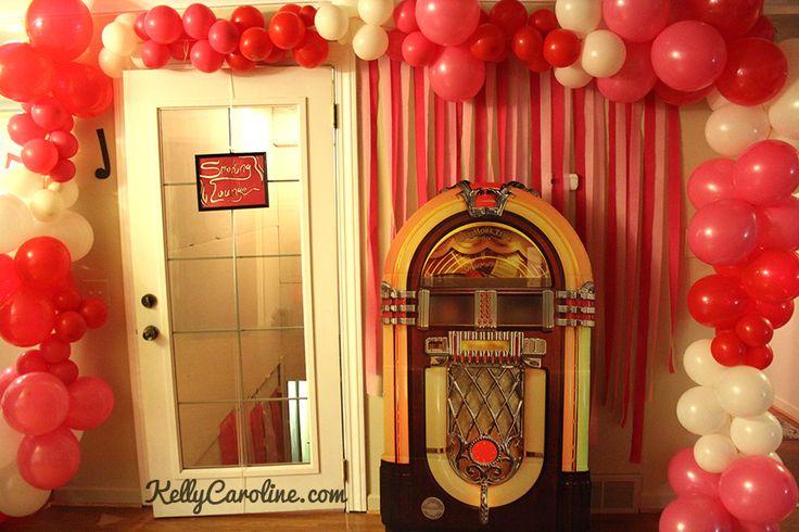 32 best images about party theme 1950 39 s on pinterest for 1950s party decoration ideas