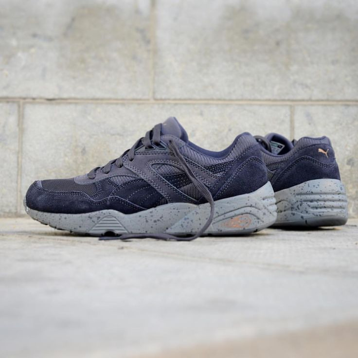 puma r698 winterized bleu
