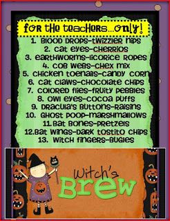 Seusstastic Classroom Inspirations: Witches' Brew FREEBIE!