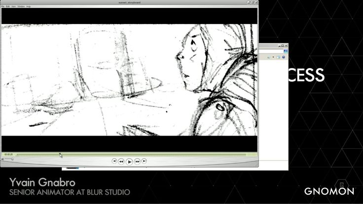 Action: The Animator's Process Yvain Gnabro talk at Gnomon and his process of making Sunset overdrive at blur studios