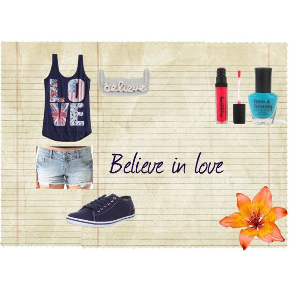 """Believe in love"" by isi-belieber3 on Polyvore"