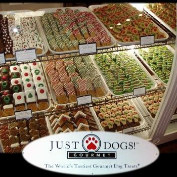 JB Deal of the Day - Just Dogs! Gourmet, Westlake- HALF OFF Dog Bakery Gourmet Treats & Merchandise! - $7 for $14 of Gourmet Dog Bakery Delights & Specialty Merchandise at Just Dogs Gourmet!