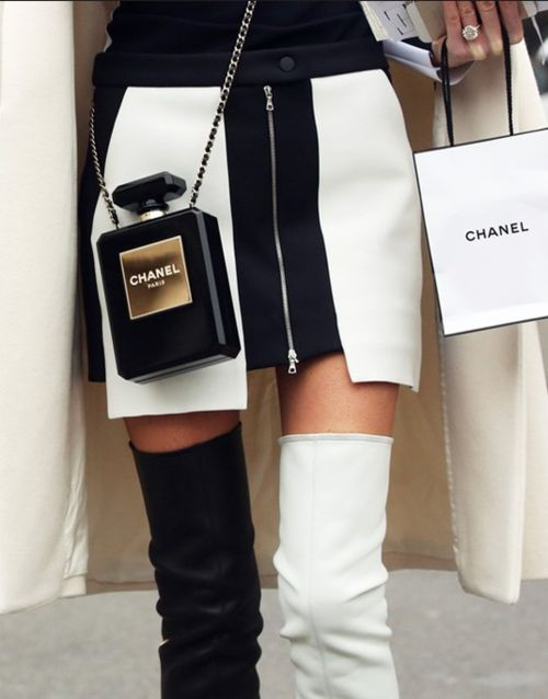 everything #monochrome chanel...