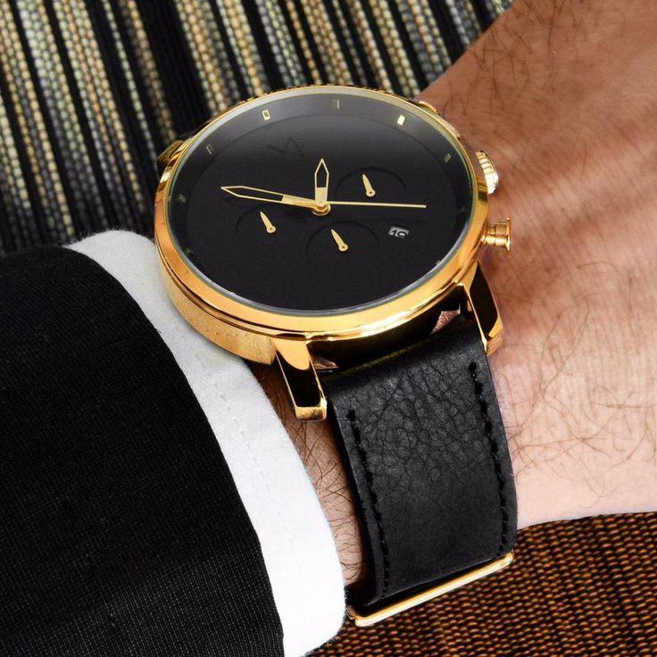 The Design Gift Shop - MVMT | Chrono | Gold/Black