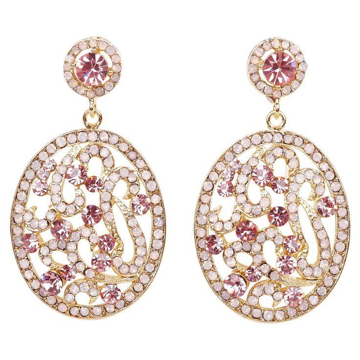 Pastel Pink Swarovski Crystals