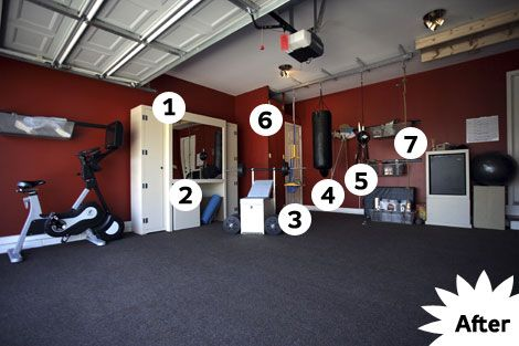 how to turn your garage into a gym  popular mechanics and gym