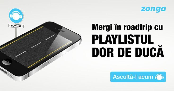 Asculta playlistul Zonga Dor de Duca: http://www.zonga.ro/playlist/sd0lbcbi609sg?utm_source=pinterest&utm_medium=banner&utm_campaign=dordeduca&asculta