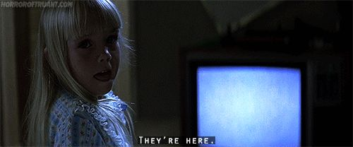 poltergeist they re here gif halloween all hallows eve rh pinterest com they're here meme they're here movie