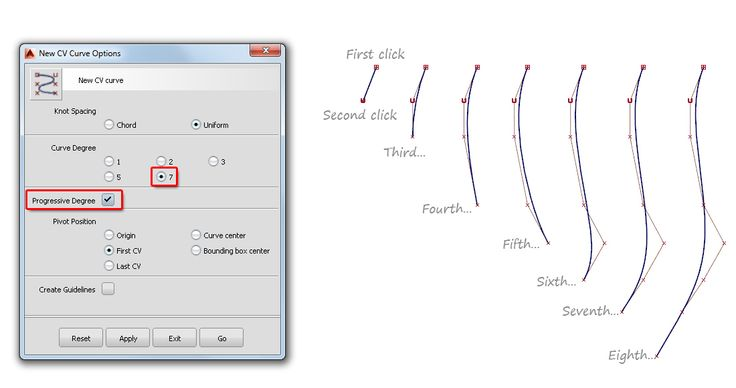 Alias Golden Rule 3: Use single-span for smooth curves   Alias Products   Autodesk Knowledge Network