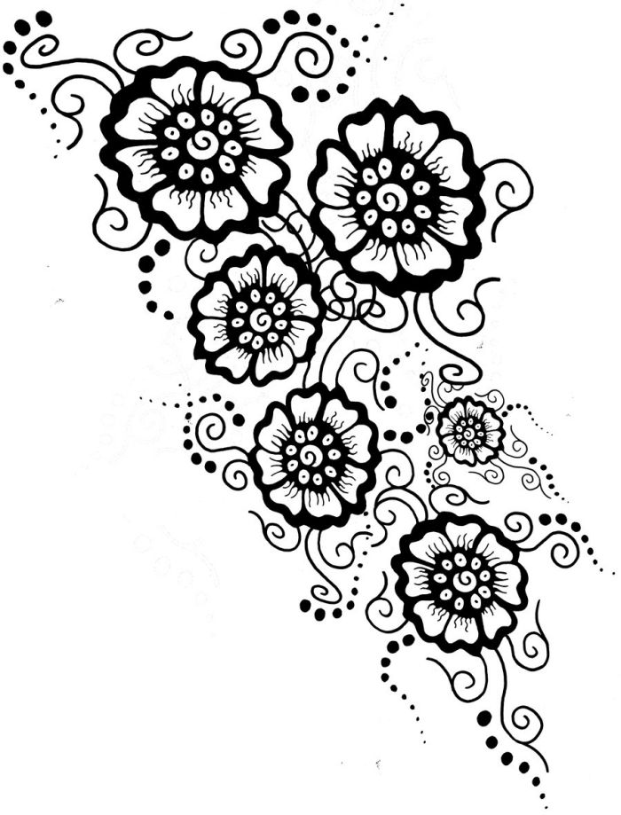 florale-motive-tattoo-vorlagen-ideen-frauen | Tattoo Motive ...