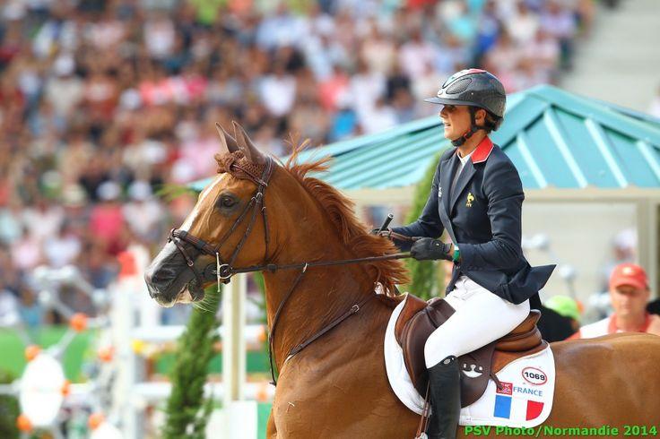 Pénélope LEPREVOST - FLORA DE MARIPOSA - FRA / - Finale Coupe des Nations 04/09 - ©CO Normandie 2014/PSV