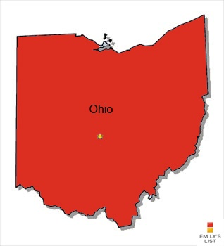 In Ohio, women make only $0.77 to every 1 dollar a man makes doing the same full time job. African American women are only paid 67 cents to every dollar, and Hispanic women make only 59 cents to every white male dollar. All three are at or below the national average. Joyce Beatty, Joyce Healy Abrams and Betty Sutton are running for Congress (3rd, 7th and 16th districts, respectively) this year in Ohio. All are EMILY's List supported, pro-choice, Democratic women who will help close the gap.