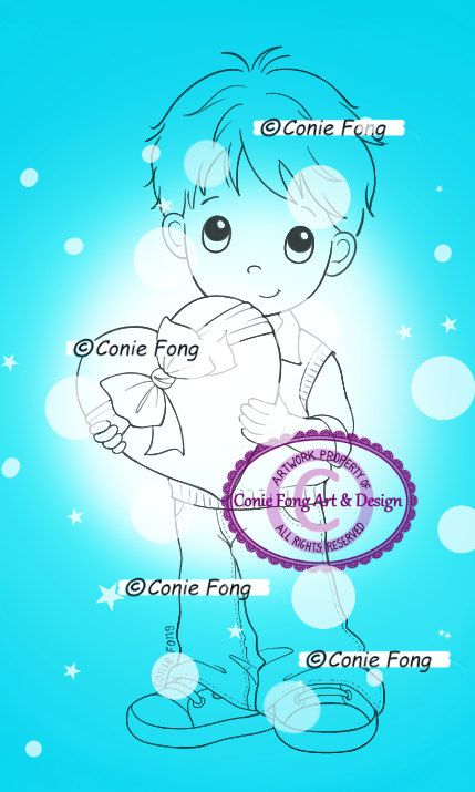 Digital stamp by Conie Fong Art and Design Title: I Love You Benny Format: 300 dpi JPEG high resolution file Approximate size: (can be resized to fit your needs prior to printing) Watermark will not appear on the downloaded file. INSTANT DOWNLOAD You can instantly download your file once your payment is confirmed. You will receive a separate email from your paid invoice, with the download link. You must be logged into your Esty account in order to download your digital stamp(s). If there is…