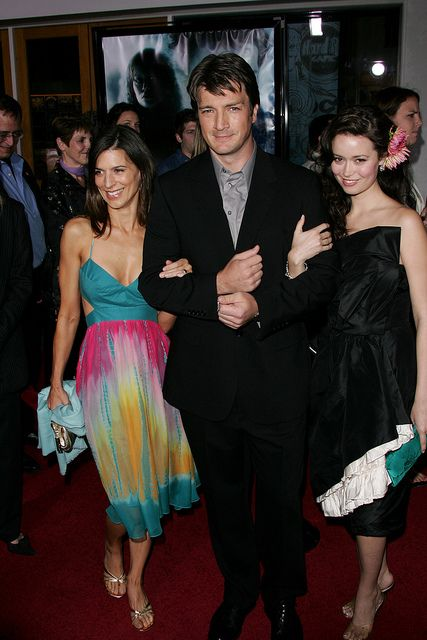 Nathan Fillion and Summer Glau