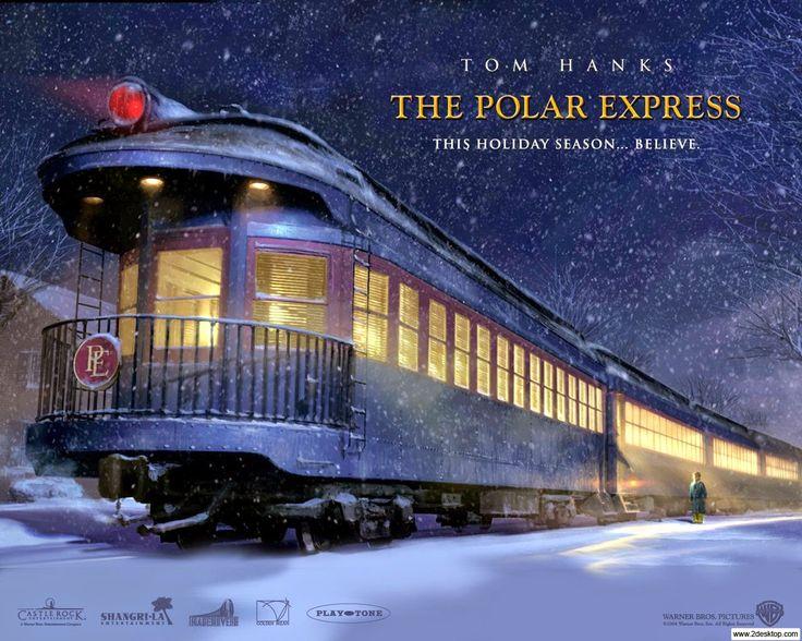 Expresso polar, Natal, garoto, Papai Noel, trem, espírito de Natal, crianças, aventura, Polo Norte