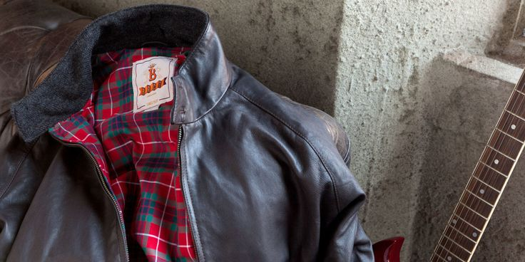 One of the Most Iconic Jackets of the 20th Century Is Now Available in Leather