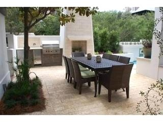 Rosemary Beach Rental Home Patio Next To Pool