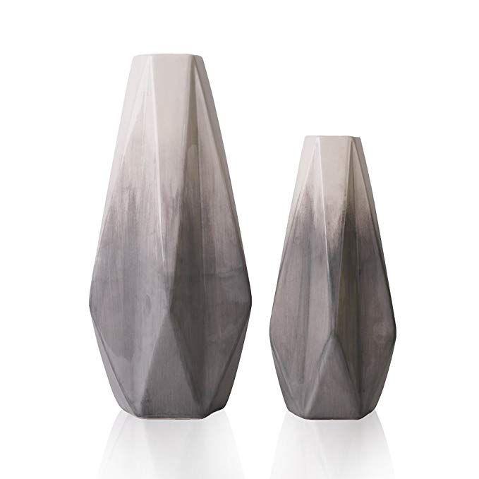 Vasi Per Soggiorno.Teresa S Collections Vasi In Ceramica Set Di 2 Vasi