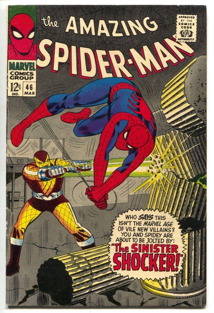 Amazing Spider-Man 46 Marvel 1967 FN VF 1st Shocker Movie Homecoming