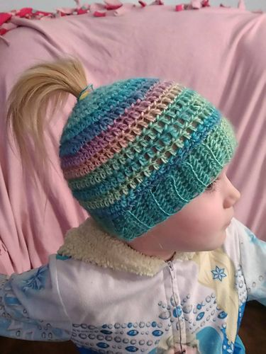 I hope you enjoy these patterns! The height of the hats are easily adjusted by adding or removing rows.