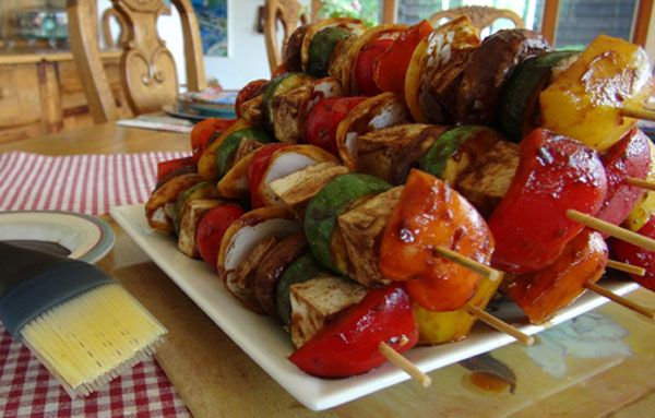 Host a Vegetarian Barbecue This Summer! [PBS article plus simple recipes]