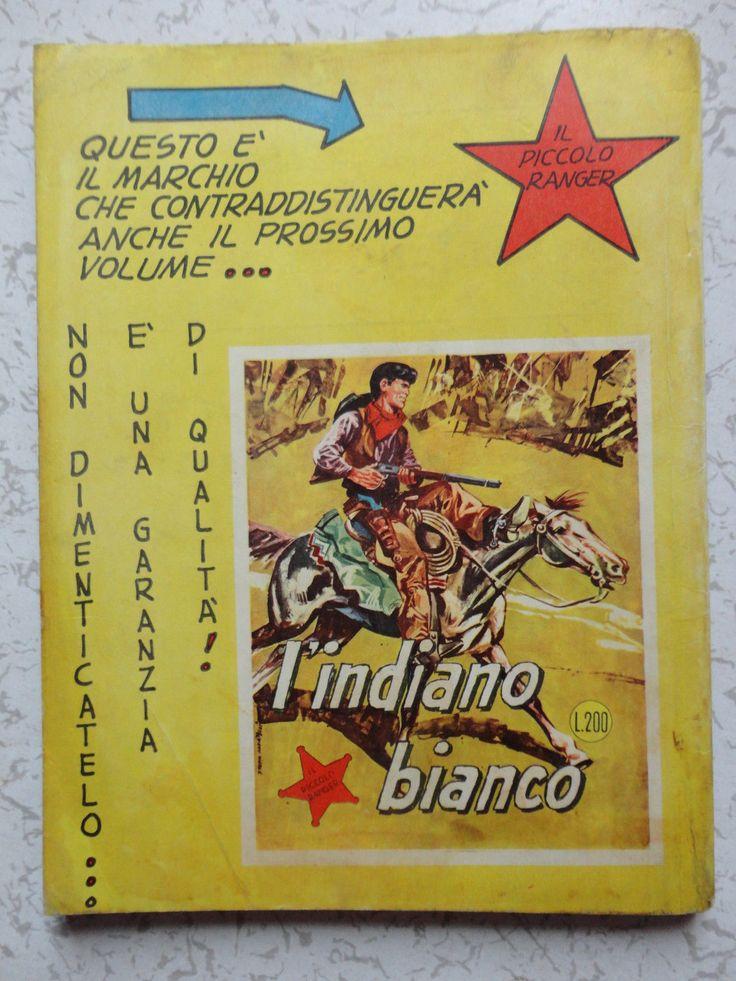 COLLANA COWBOY IL PICCOLO RANGER n° 1 ORIGINALE SPILLATO OTTIMO!! | eBay