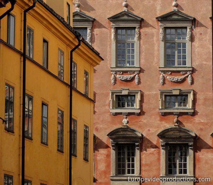 Gamla Stan la Vieille Ville de Stockholm capitale suédoise