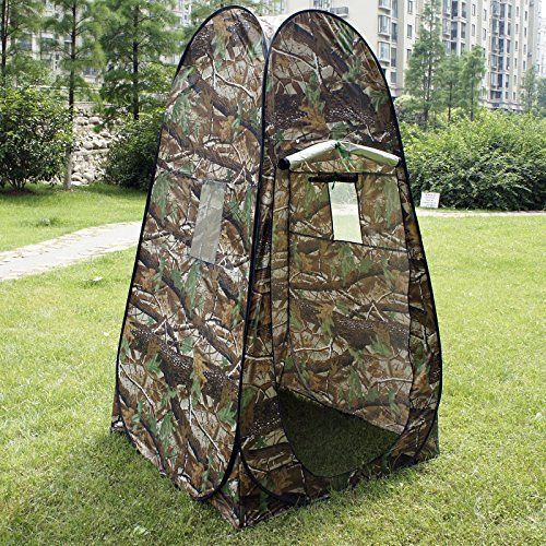 Camouflage Portable Camp Toilet Pop Up Tent Privacy Shower Changing Room With Bag * Want to know more, click on the image.