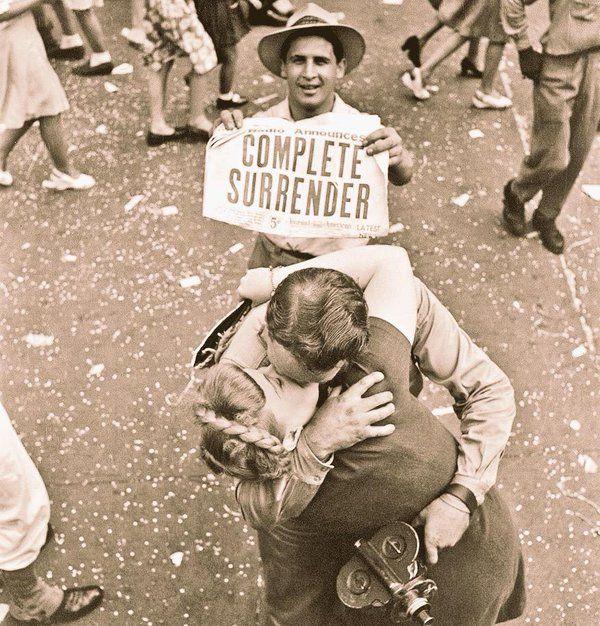 Victoire sur le Japon jour - redditions du Japon. 1945 Victory over Japan Day - Japan surrenders. 1945