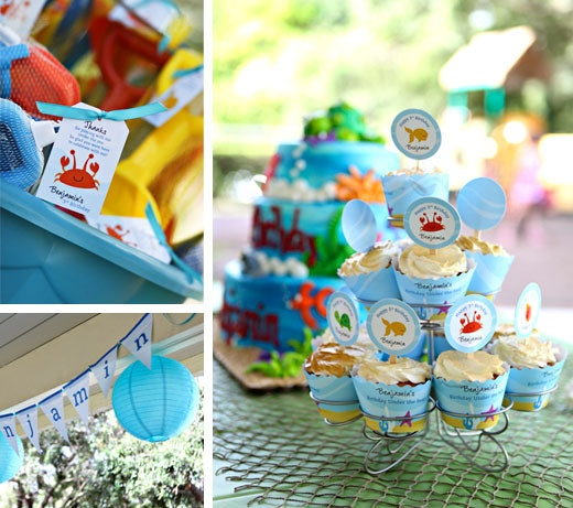 Under the Sea Birthday Party....love it!