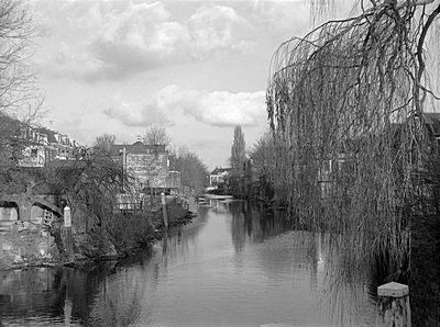 554_34924 Spuihaven met links de Vest - Regionaal Archief Dordrecht