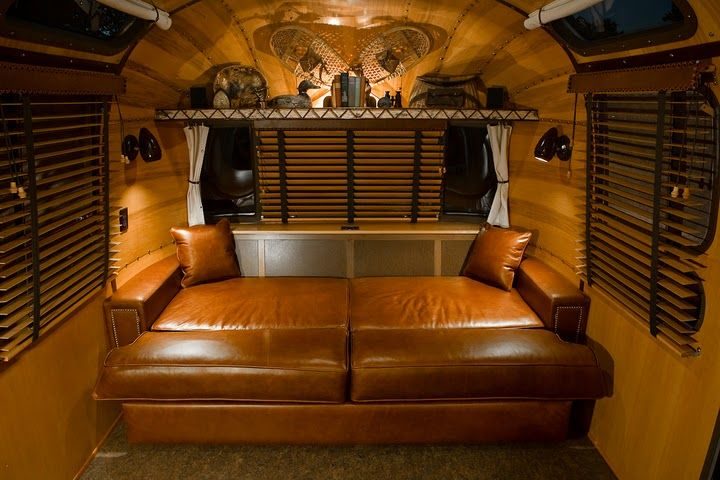 Remodeled Ralph Lauren Airstream With The Air Of An Upscale Upstate Newyork Mountain Cabin