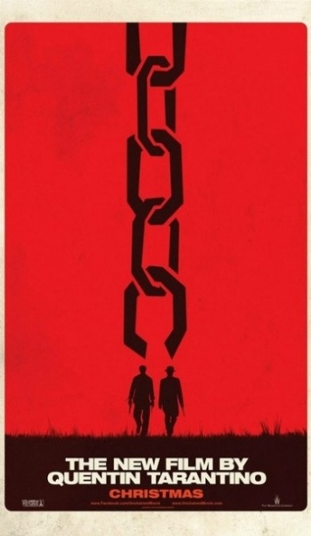 Django Unchained teaser. New film by Quentin Tarentino. Saul Bass's like.