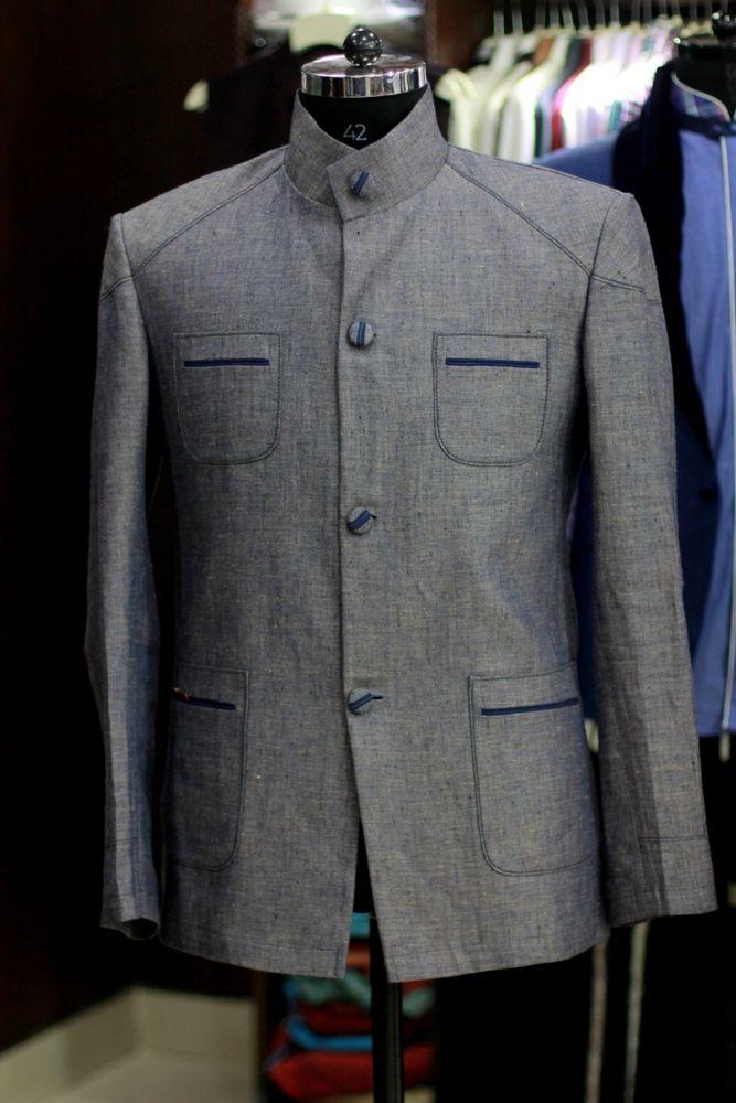 Classy Silver-Grey Jacket