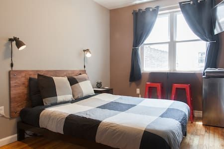 Check out this awesome listing on Airbnb: Warm and Cozy Room in Hip Iconic Brooklyn!!! - Apartments for Rent in Brooklyn