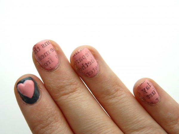 Love Letters - Valentine's Day Nails