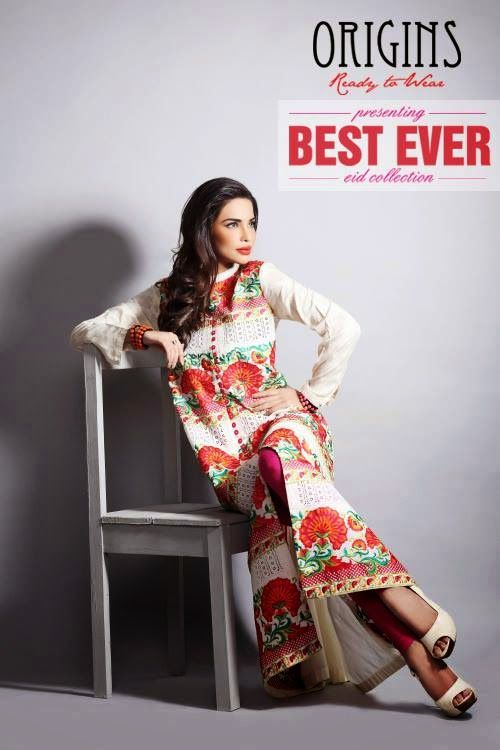 WFwomen: Ready To Wear Eid Dresses For Girls And Women By Origins From 2014
