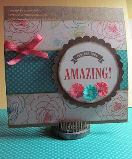 Card idea using CTMH's Dotty For You collection