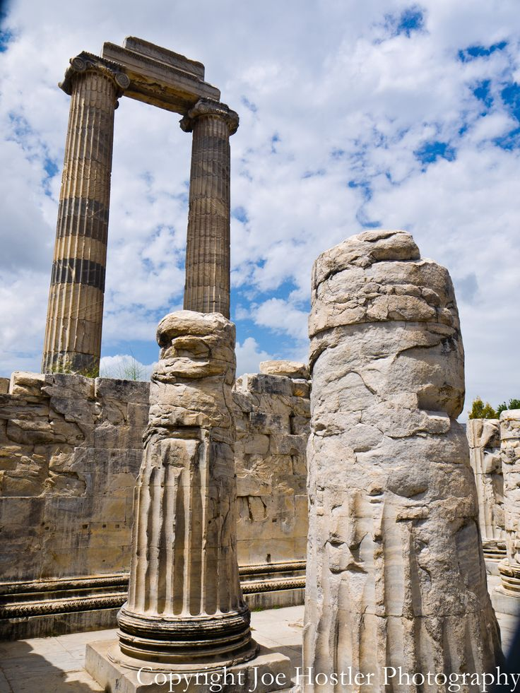 DIdyma Columns at the Temple of Zeus.