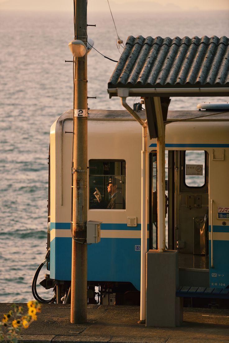 JR予讃線 下灘駅